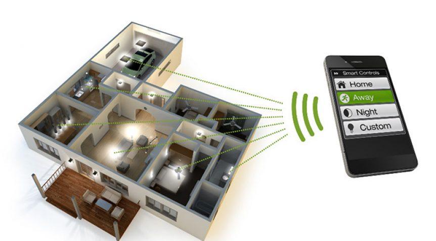 điều khiển chiếu sáng với nhà thông minh smarthome với smartphone