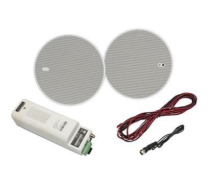 Eissound giải pháp âm thanh bluetooth âm trần cho cửa hàng shop khách sạn và căn hộ - màu trắng