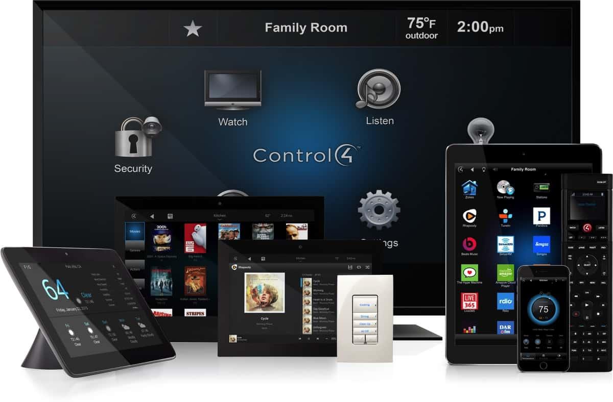 thiết bị nhà thông minh control 4 smarthome đến từ Mỹ