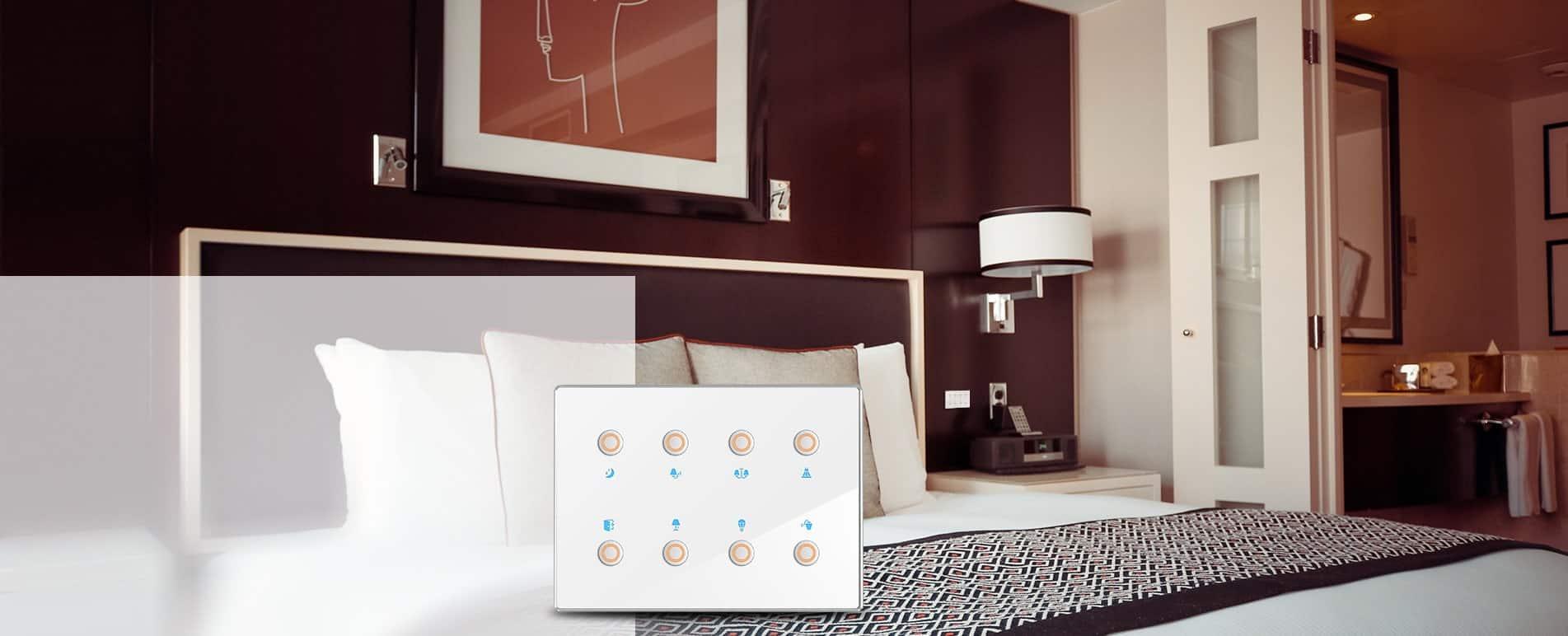 bảng điều khiển đầu giường